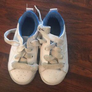 Koala kids white boy shoes size 6